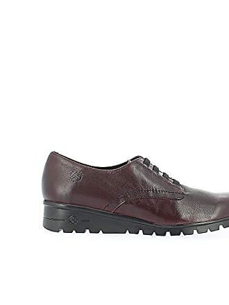 Para 39 Rojo De Cordones Eu 005 Jaspe Mujer Brogue Zapatos Yokono burdeos nv7TxqwXF0