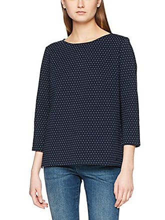 Neck Navy 6593 Sweatie Para Blue real Mock Small Mujer Sudadera Azul Tailor Tom Tq1PExzwUW
