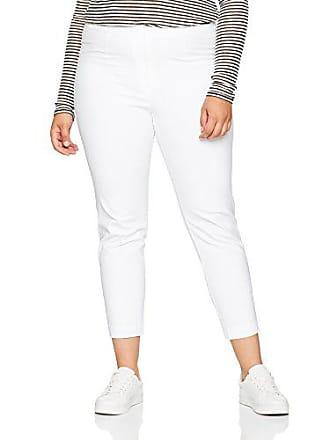 Pantaloni Ulla Bianco 50 donna 660046 Hose Popken 7 da 8 20 weiss wXqrpRX