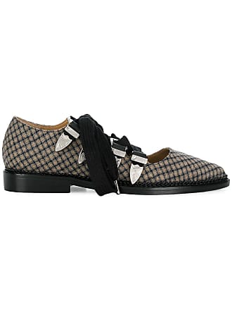 Pumps Noir Archives Checked Lace Toga Up wqaXO1wI