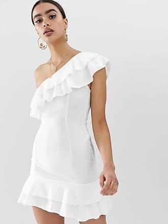 De With The In Style Volante Dress Asymmetrical Faiers Billie qIdzw8w