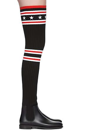 Pluie Cuissardes Givenchy Noires Chaussettes De Bottes PxqqfS8