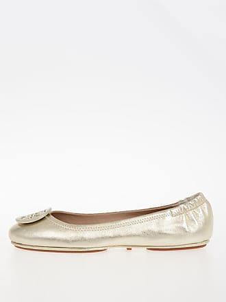 5 Minnie Leather Flat Burch Travel Ballet Tory Size w0U4gqx