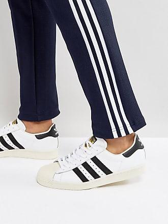 Zapatillas Superstar Adidas 80 Deporte En G61070 De Años Originals Estilo Blanco OOvwqBrH5p