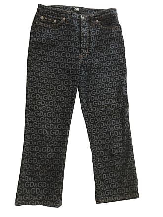gebraucht - Jeans - W 28 - Damen - Blau - Jeansstoff Dolce & Gabbana