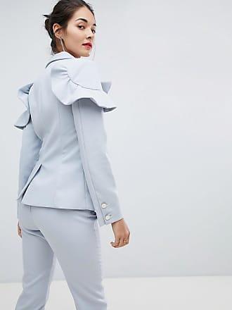 Jacke mit Rüschen - Blau Elliatt