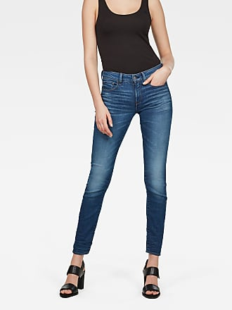 3301 Deconstructed Mid waist Skinny Jeans G-Star