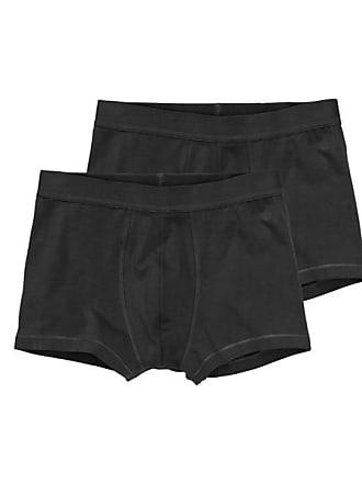 2 Kurz-Boxershorts, Real Lasting Cotton (Schwarz) HEMA