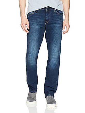Joe's Mens Distressed Colored Brixton Straight and Narrow Jean, Grizzly, 28