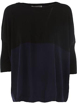 Pullover für Damen, Pulli Günstig im Sale, Aladino, Schwarz, Baumwolle, 2017, 38 40 Jucca