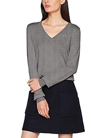 Damen Pullover Af7637 Grau (Galaxite Chine) Lacoste
