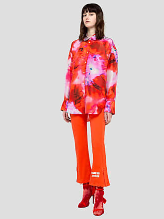 crop pants with chromotherapy details Msgm