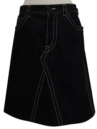 gebraucht - Jeansrock - DE 42 - Damen - Blau - Jeansstoff Prada