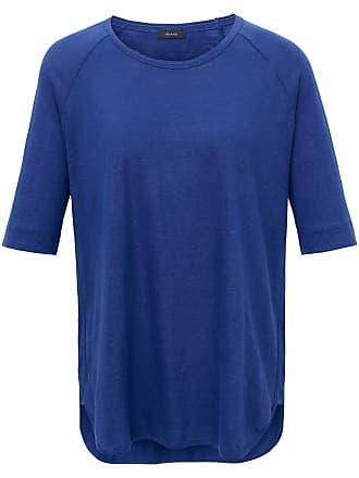 Rundhals-Shirt aus 100% Leinen Riani blau Riani