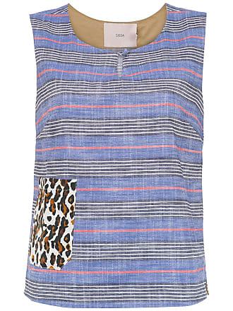 printed Chiang Mai blouse - Blau Sissa