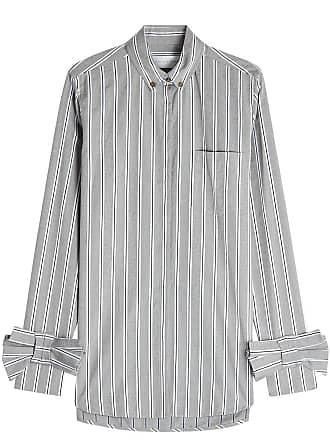 Gestreifte Bluse aus Baumwolle mit Schleifendetails Victoria Beckham