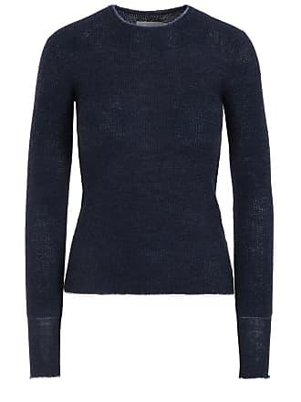 Blue crew-neck sweater Vince