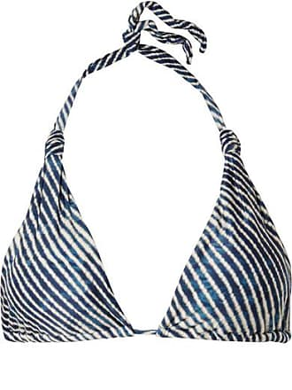 Corales Bia Bedrucktes Triangel-bikini-oberteil - Blau Vix