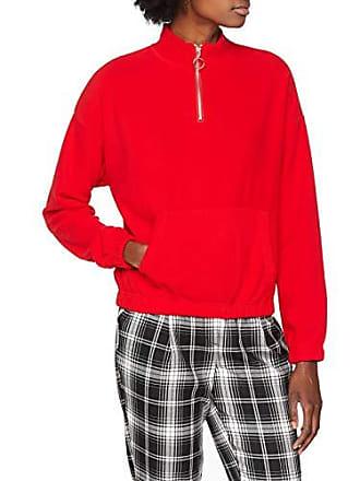 New Look Fleece Damen Zip Pullover Polar 6057441 Half hQdsxtCr