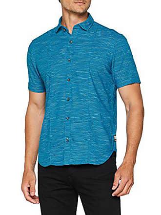 oliver Blue oriental 64w3 2206 Melange Azul Casual 22 S 807 Camisa Hombre S 13 Para Sq4Z4wA