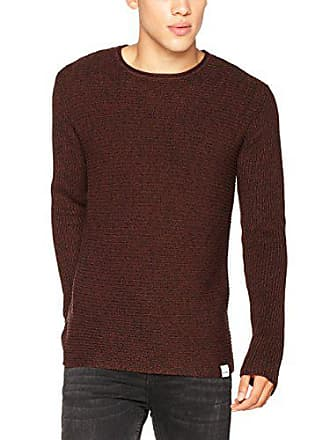 Homme Multi Onssato Pull Only Noos Knit Sons amp; Marron fudge Clr qtOx8OU4