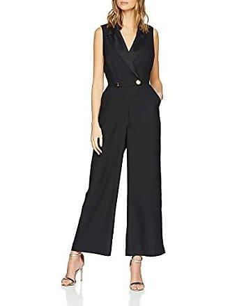 Tuxedo 44 Crepe Noir 77 Combinaison Warehouse Femme Satin black aE8Cqnxpw