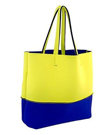 Leghila Leghila Mehrfarbig Mehrfarbig blau Strandtasche Gelb Strandtasche tdCroQBsxh