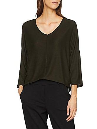 Green 3033 Opus Longues Slindi shirt oliv T Femme Manches 44 Vert ZqT6Zp