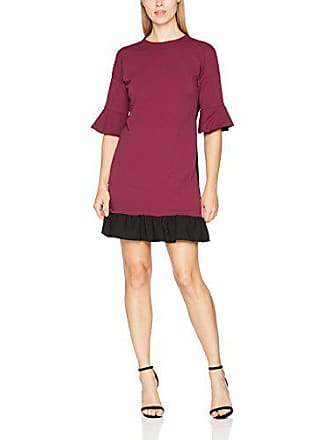 Trucco Vestido Para Talla Oscuro Mujer Casual Rojo S Color qwqExrd6