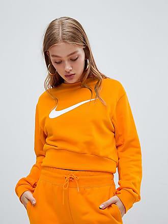 Exclusiva En De Naranja Asos Con Sudadera Corta Grande Logo Nike wpXyq0axUT