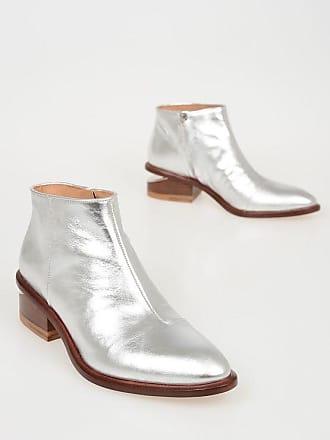 Kori Booties Wang 5 Cm Metallic 5 Alexander Leather 36 Size TlJcKF31