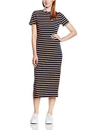 black Stripe Corps Noir L Stripe sand Dress Femme Glamorous navy 7f4XqZ