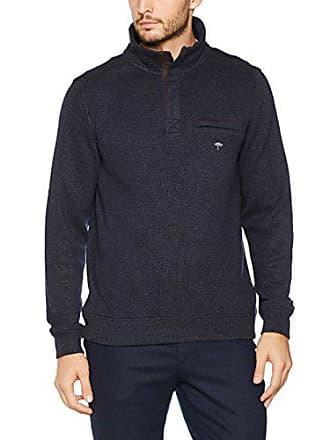 Homme Troyer Shirt Hatton Sweat Zip Fynch Melange Bleu aFx1nPxq