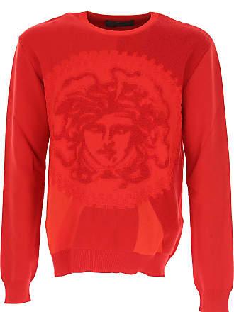 De En Rebajas Versace 2017 Hombre Algodon S Baratos Rojo Sudadera 51wxK6Iqxf