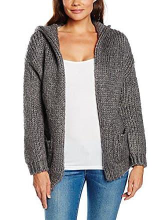Hood gris Femme M Tantra vêtement And Jacket9714 De Knitted Sport Jacket Pockets Sous With xCqtZwvP