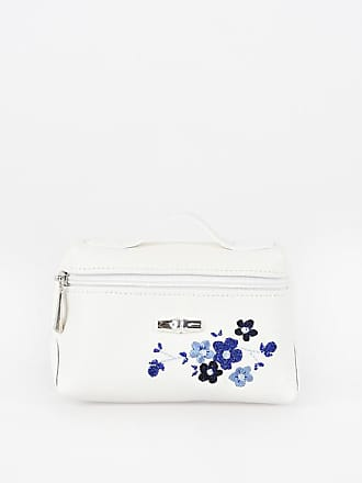 Unica Longchamp Leather Größe Mini Embroidered Bag nwgPvUqw