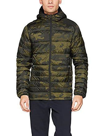 Jack Tech Homme Jacket Jones Aop Vert amp; Night forest Jjtbonus Down Blouson BqrBfn