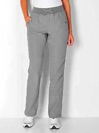 gris jogging blanc microfibre Blancheporte Pantalon 0FUxqwX