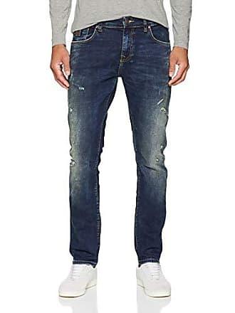 30w Vaqueros Hombre 51332 Ltb Joshua Wash Para Blau Slim 36l Jeans maestro X nw1xS