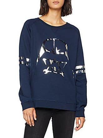 Sweatshirt Geométrico Sweater Dv Alvarno Blauazul Damen Marino 0 Ybgfv7y6