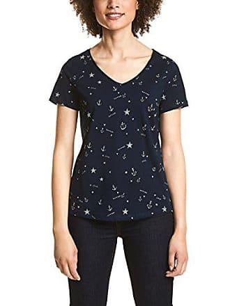 Mujer Para 312359 Mehrfarbig Blue 36 21238 Street One deep Camiseta BIwvvT