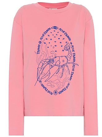 Brodé E shirt Crayfish Sweat Oslavi Studios Coton Acne En qHtgRaHz