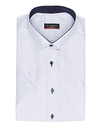 Fit hemd Eterna Modern Halbarm Hellblau qZtXHH6w