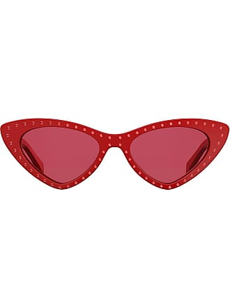 design Rot Moschino eye Im Cat Sonnenbrille q6wHUBOzx