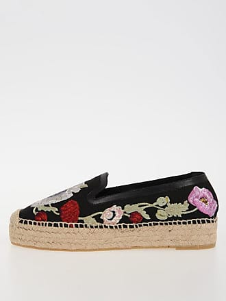 Size Alexander Embroidery Espadrilles 37 Mcqueen Fabric wIqr7Ia