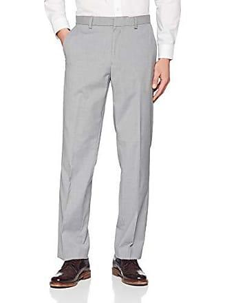 Trousers Hose Grey Burton Light Tailored London Herren Menswear Fit Stretch 35RA4jL