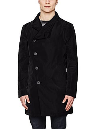 Nord 001 Religion black Uomo Cappotto Coat X large Assymetric Nero YwBrY7