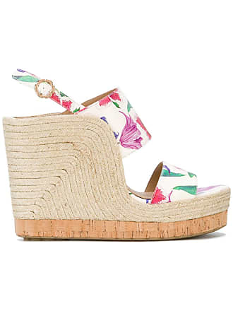 wedge White Salvatore sandals high Ferragamo qyUUcOf7S