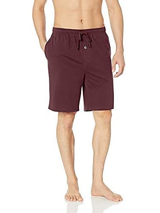 talla Essentials Bur burgundy Pantalones Knit Del Pajama Amazon Fabricante Rojo Única Short Cortos Small wgAvd4xq