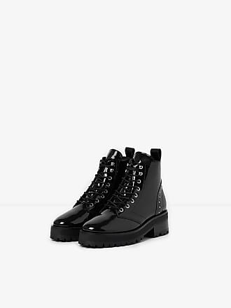 Cuir The Kooples En Vernis Boots YgAtg